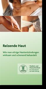 Broschüre für Hautentzündungen