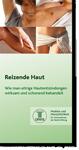 """Cesra Arzneimittel Broschuere über das Thema """"Reizende Haut"""""""