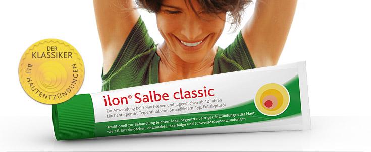 ilon Abszess-Salbe gegen Hautentzündungen
