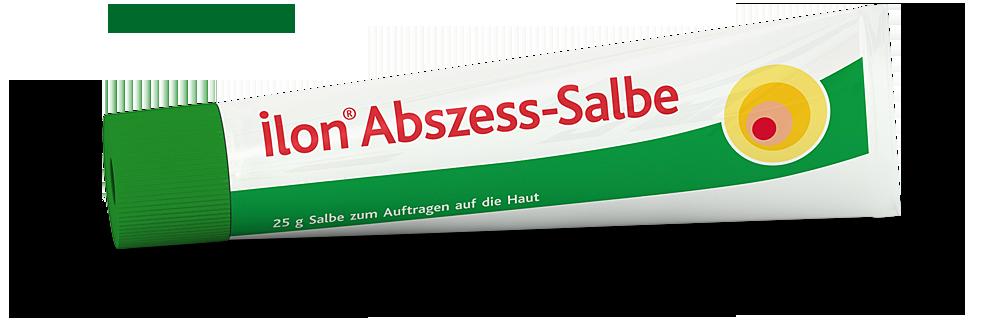 ehemalige ilon Abszess-Salbe 25g Tube liegend